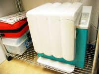 クアトロケア切削器具の内部の急速注油洗浄